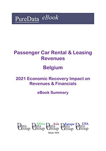 Passenger Car Rental & Leasing Revenues Belgium Summary: 2021 Economic Recovery...