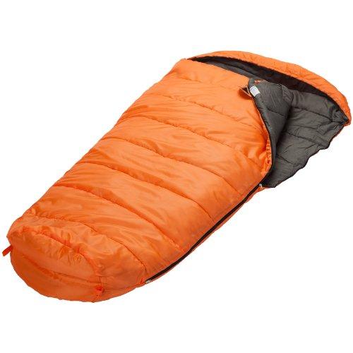 Skandika Vegas Sac de couchage zip cote gauche Orange L 220 x 110 cm