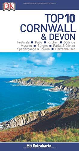 Top 10 Reiseführer Cornwall & Devon: mit Extra-Karte und kulinarischem Sprachführer zum Herausnehmen
