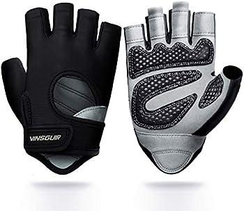 Vinsguir Lightweight Breathable Workout Gloves