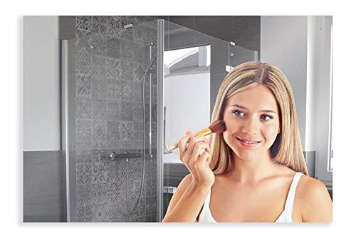 Artland Ganzkörperspiegel zum Aufhängen Wandspiegel Rahmenlos 120x80 cm Rechteckig Spiegel ohne Rahmen für Wohnzimmer Badezimmer Flur B8JP