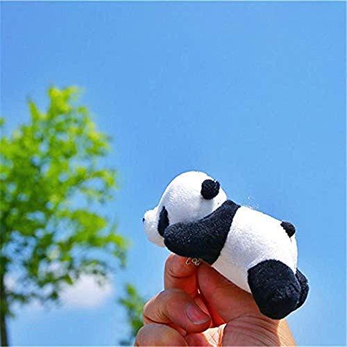 JKLI Plüschtier Panda Bär Brosche Panda Pin Tier Brosche Plüschtier Zubehör Panda Mädchen Plüschtier [Kaufen Sie Zwei und erhalten Sie einen gratis] Wangwu