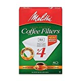Melitta Coffee Filters, Cone, 40 filters (Pack of 3)