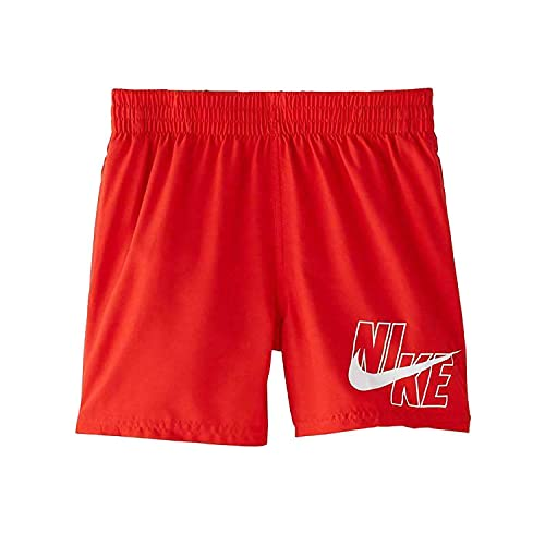 Nike 4 Volley-Shorts für Kinder L Rot (University Red)