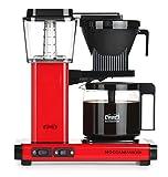 Moccamaster KBG Select Cafetera de filtro, 1520 W, 1.25 litros, Aluminio, Rojo