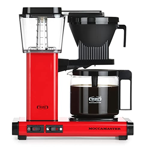 Moccamaster Filter kaffemaskin KBG Select, 1,25 liter, 1520 W, röd