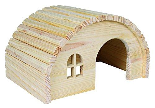 Trixie 61272 - Casa in Legno - Casa di porcellini d'India - 1 - Naturale.