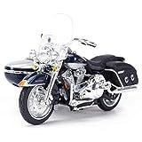 NYSCJJJ Modèle Moto Harley 2001 FLHRC Road King Locomotive Route Simulation en...