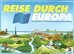 Reise durch Europa - Schmidt Spiele