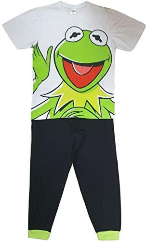 Conjunto de pijama de algodón para hombre, tamaño pequeño a extragrande.