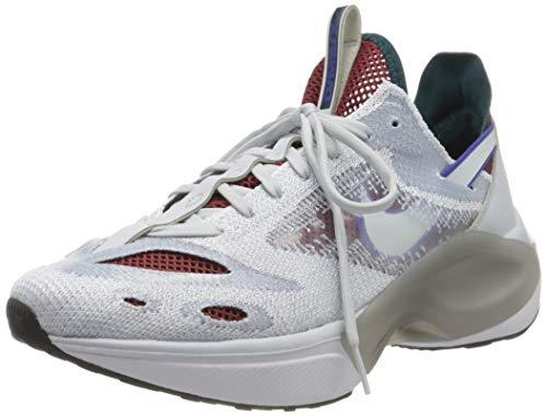 Nike N110 D/ms/x, Zapatillas para Correr Hombre, Pure Platinum/Rush Violet/Midnight Turq, 42 EU
