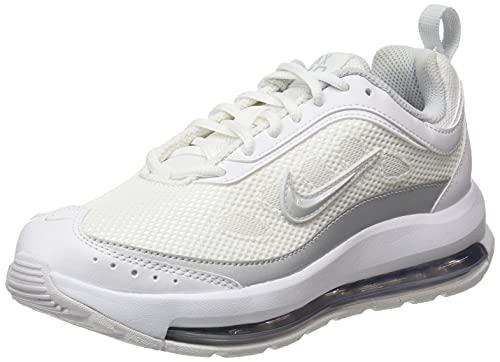 Nike Airax Ap, Zapatos Mujer, White/Pure Platinum-White-Mtlc, 35.5 EU