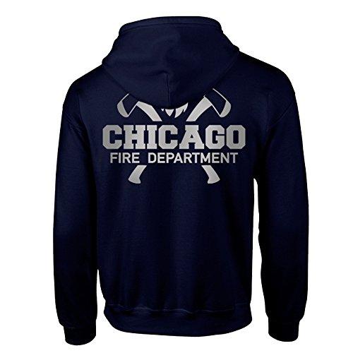 Chicago Fire Dept. - Kapuzenpullover für Herren (L)