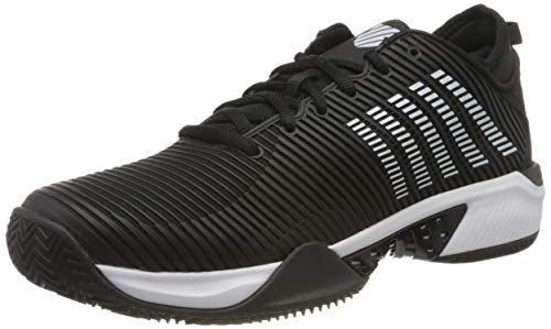 K-Swiss Performance Hypercourt Supreme HB, Zapatillas de Tenis Hombre, Negro (Black/White 002), 44.5 EU