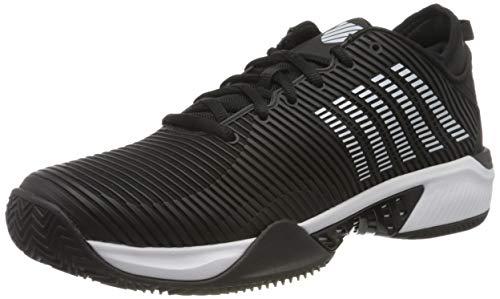 Dunlop Herren Hypercourt Supreme HB Sneaker, Black/White, 42.5 EU