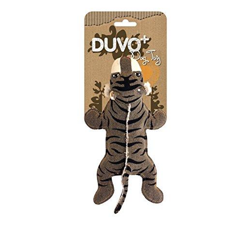 Duvo+ Tigre Jouet Authentique/Résistant pour Chien