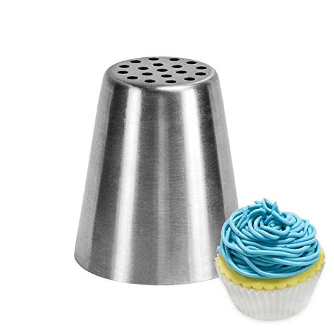 車鼻のためにTTLIFE 1個ステンレス鋼ロシアンクリームアイシング配管ノズルペストリーのヒントFondant Cake装飾用ベーキングツール:602