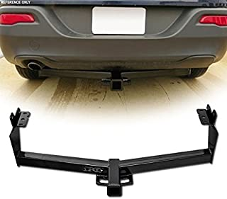 VXMOTOR for 2014-2017 Jeep Cherokee All Models - Class 3 Trailer Hitch Receiver Rear Bumper Tow KIT 2