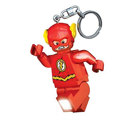 IQ Lego DC Super Heroes The Flash LED Keychain Light - 3 inch Tall Figure