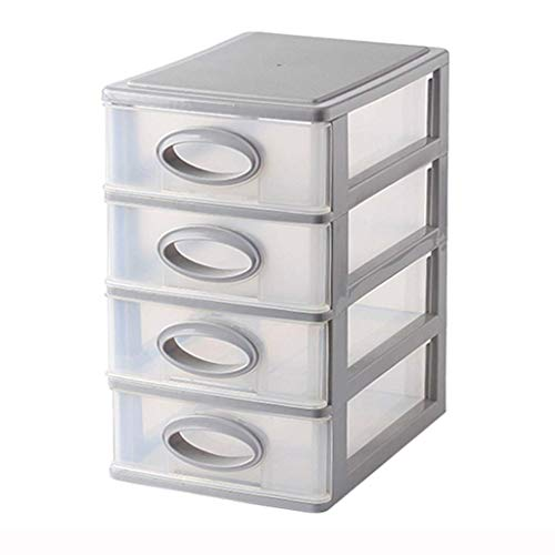 ZTMN Type de tiroir Multicouche Boîte de Rangement cosmétique en Plastique Simple Rouge à lèvres Bijoux Produits de Soins de la Peau Boîte de Rangement (Taille: 21 * 15 * 25 cm)
