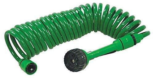Veto - Tubo a spirale da giardino, 7 funzioni, lunghezza: 7,5 m