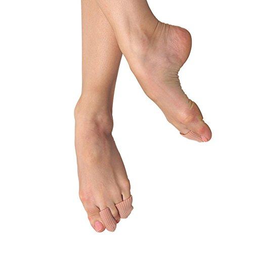 Bloch Women's Ballet/Pointe Shoe Gel Toe Tips (S/M), Nude, One Size UK