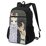 可愛いとおもろい動物 馬 バックパック リュックサック 登山用リュック シンプル 折り畳み 大容量 軽量 撥水を防 大開口式ぐ ハイキング 海外旅行 通勤 アウトドア キャンプ