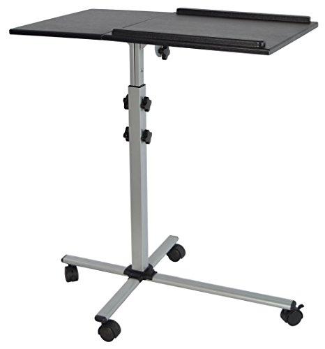 VIVO Projector & Laptop Adjustable Trolley Presentation Cart/Mobile Projection Stand (CART-V01L)