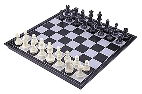 ZHBH International Chess 31x31cm children 's educational toys chess, portable chess board with magnetic folding chess Special For The Adult Education Competition Chess Board Chess Sets