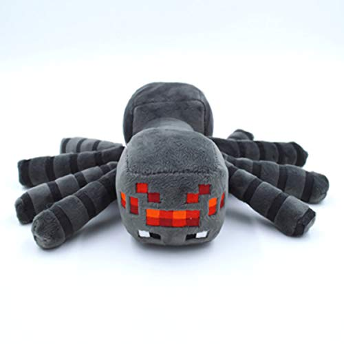 ZOOCY Minecraft. Steve Plush Stuffed Toy, The Best Gift for Minecraft Fans (Big Spider【11.8 in】)