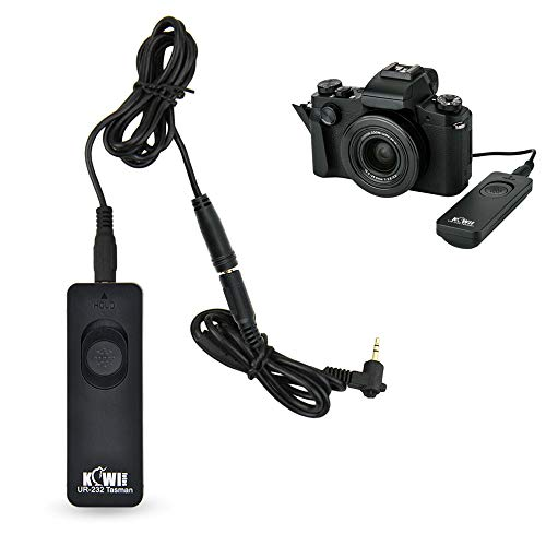 Kiwifotos RS-60E3 Remote Switch Shutter Release Cord for Canon EOS Rebel T6 T7 T5 T8i...