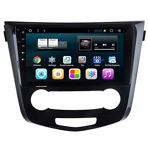 TOPNAVI Android 7.1 Quad Core Auto Audio pour Nissan Qashqai 2013 2014 2015 2016 Autoradio Stéréo GPS Lecteur de Navigation avec 32 Go de ROM 2 Go de RAM WiFi 3G RDS Lien Miroir FM