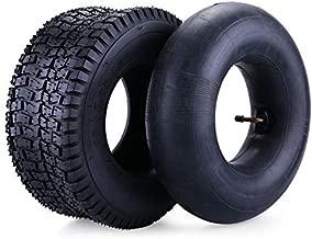 13x5.00-6 Tire & Inner Tube Set for Razor Dirt Quad and Go Kart, Dirt Bike, ATV, Yard Tractors, Lawn Mower, Wagons, Hand Trucks, Premium Replacement Tire Inner Tube with Bent Metal Valve Stem, 1 Set