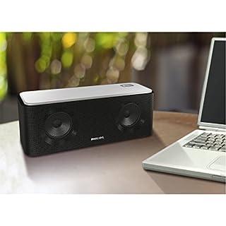 عروض Philips SB365B/37 Wireless Bluetooth Portable Speaker with Rechargeable Battery