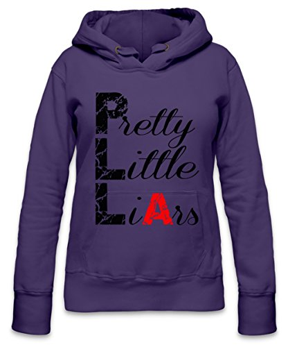 Pretty Little Liars Slogan Womens Hoodie X-Large