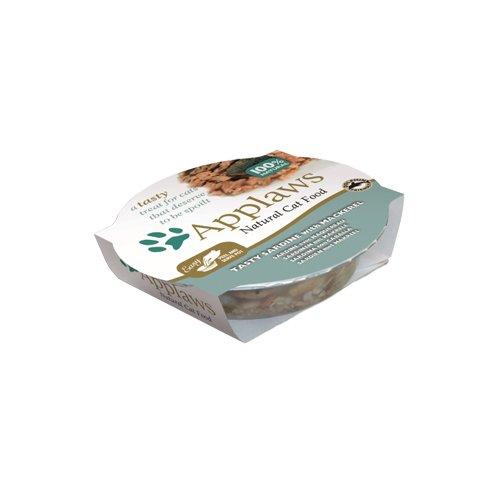 Applaws Coquille de Sardine/Maquereau pour Chat 10 x 60 g