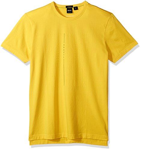 BOSS Orange Men's World Cup Soccer Country Tee Shirt, Brazil, Large