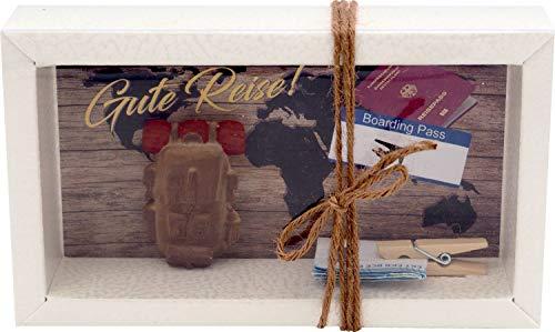 ZauberDeko Geldgeschenk Verpackung Geldverpackung Reise Work and Travel Backpacking Urlaub Weltreise AuPair
