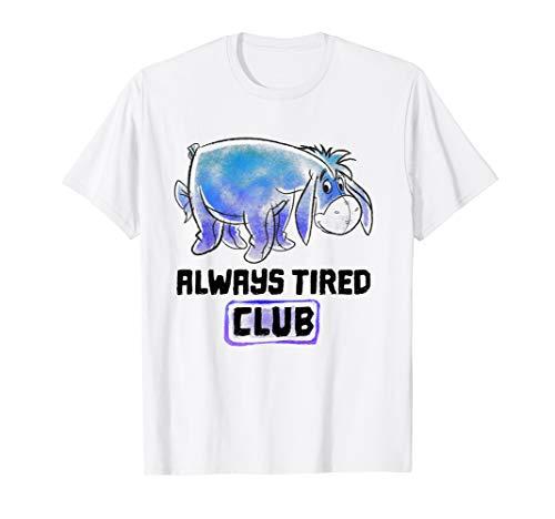 Disney Winnie The Pooh Eeyore Always Tired Club T-Shirt T-Shirt