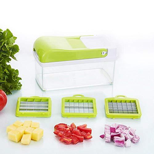 Máquina de corte multifuncional de verduras y frutas, cocina doméstica trituradora de patatas/rebanadas/rebanadoras