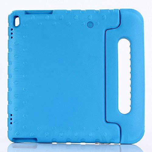 QiuKui Tab Funda para Lenovo TAB4 10 TB-X304F, Mango Niños a Prueba de Golpes de Cuerpo Completo de la Cubierta para Lenovo Tab 4 10 Plus TB-X704F X704N 10.1' (Color : Blue)