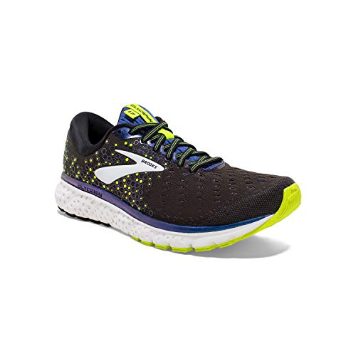 Brooks Glycerin 17, Scarpe da Corsa Uomo, Nero (Black/Blue/Nightlife 069), 42.5 EU