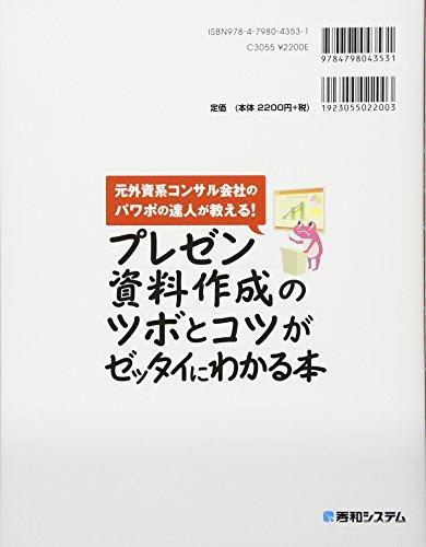 奥秋和歌子『プレゼン資料作成のツボとコツがゼッタイにわかる本』