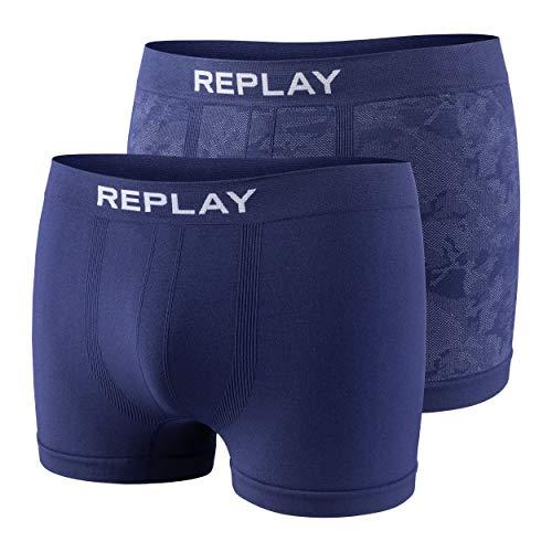 2-delige set boxershorts heren replay onderbroek nauwsluitend I101112