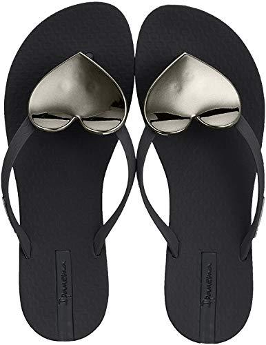 Ipanema Damen Maxi Fashion II FEM Zehentrenner, Mehrfarbig (Black 8041), 40 EU