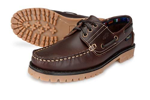 Newport Hamburg Crew Imperio Marrón Oscuro (Zapatos Barcos y Zapatos de Nave), color Marrón, talla 45 EU