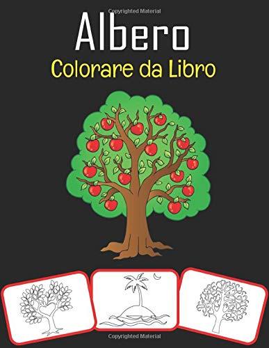 Albero Colorare da Libro: Libro da colorare sugli alberi tranquilli (adatto per bambini e adulti)