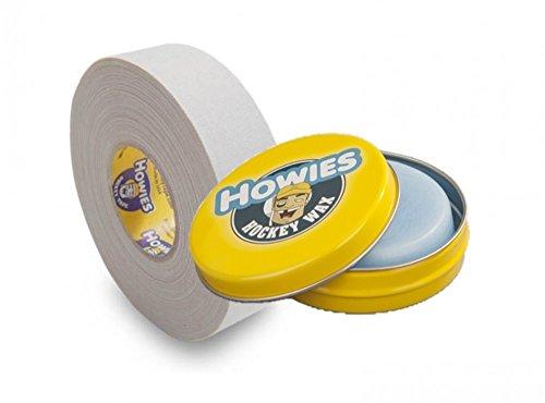 Howies Tape und Hockeywachs Ice Wax 80g, Eishockey Weiss
