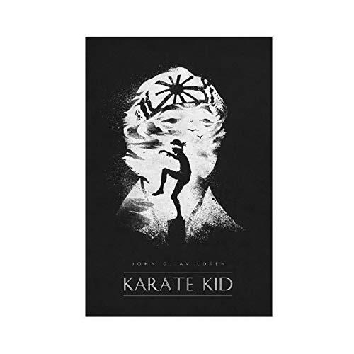 Filmposter The Karate Kid Leinwand Poster Schlafzimmer Dekor Sport Landschaft Büro Zimmer Dekor Geschenk UnRahmen: 30 × 45 cm