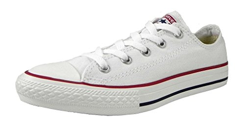 Converse All Star Low Top Kids/Youth Shoes Boys/Girls Sneakers (10.5 Kids, Low Optical White)